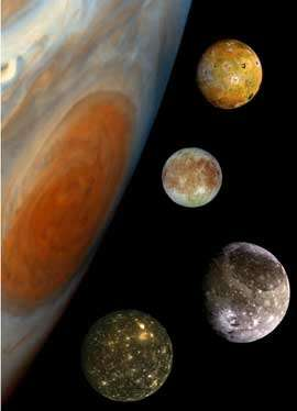 Giove nasconderà le sue lune più grandi il 2 Settembre