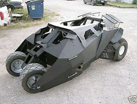Batmobile go-cart DIY all'asta