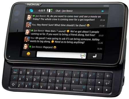 Nokia N900 e Maemo 5