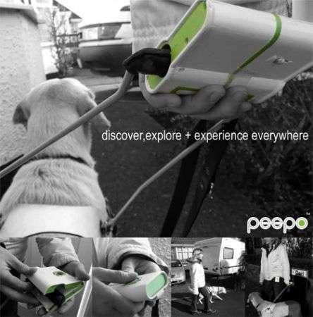 Peepo: aiuta con il GPS i cani guida