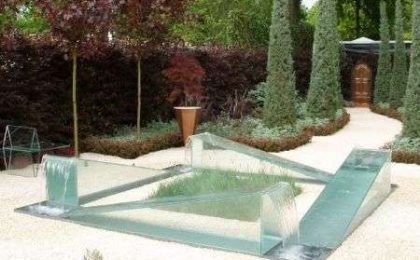 Fontana Impossibile Wrong Garden ispirato a Escher