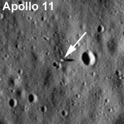 Luna: le foto dei residui delle missioni Apollo