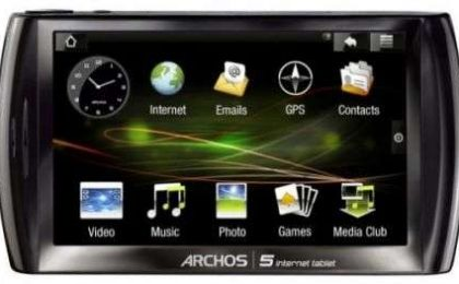 Archos 5 Internet Tablet ufficiale