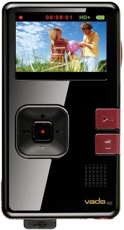 Videocamera Creative Vado HD: più memoria