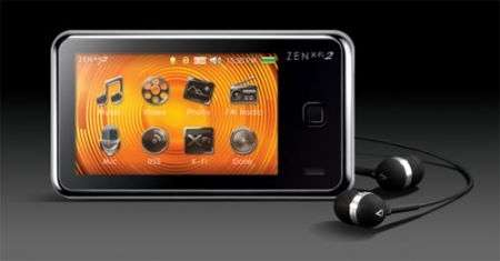 Lettori mp3 Creative Zen X-Fi 2