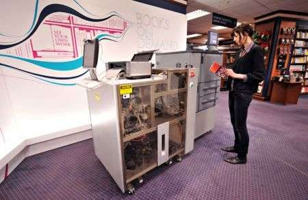 Google Espresso Book Machine stampa libri in 5 minuti