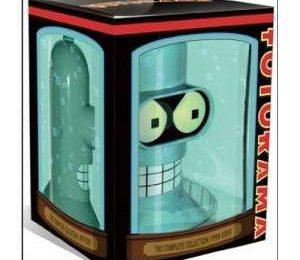 Futurama: collezione DVD completa e testa di Bender