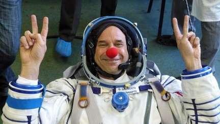 Guy Laliberte vola nello spazio