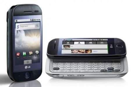 LG GW620 con Android