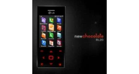 LG New Chocolate BL20 appare