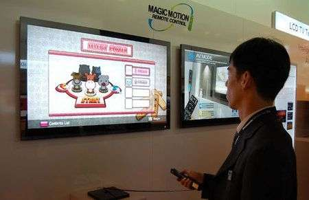 LG si Wii-zza con il Magic Motion Remote Control
