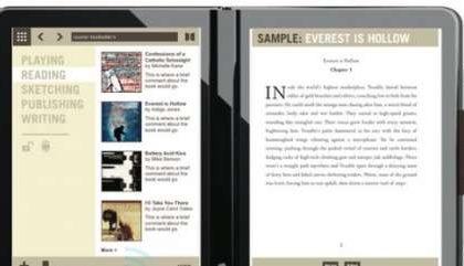 Microsoft Courier: video dell'interfaccia