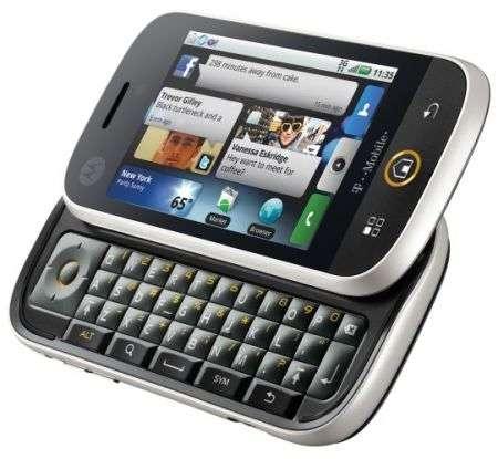 Motorola Cliq, il primo Android degli americani