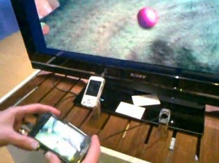 nokia n900 big screen gaming video