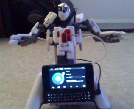 nokia n900 controlled robot
