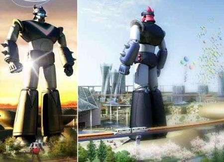 Robot Taekwon V di 110 metri in Corea