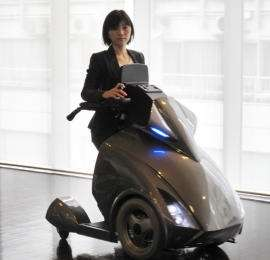 Sedia a rotelle scooter