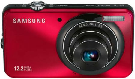 Fotocamera Samsung ST45: sottiletta