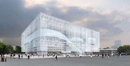 Shanghai Corporate Pavilion sarà fatto di custodie di CD
