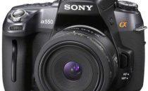 Fotocamere Sony Alpha 500, 550 e 850
