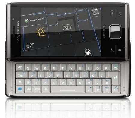 Sony Ericsson XPERIA X2 in video