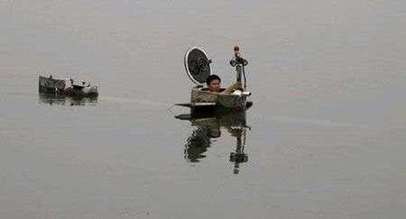 Sottomarino cinese fai da te