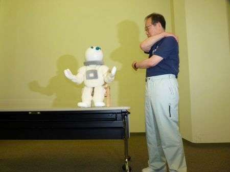 Taizo: robot fisioterapista per anziani