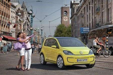 Volkswagen E-Up! con tetto solare