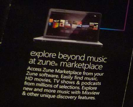 Zune Sotware: film in HD?