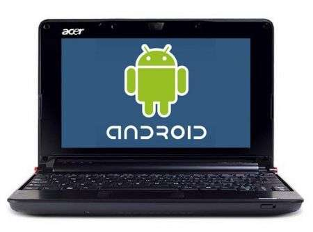 Netbook Acer con Android per Natale