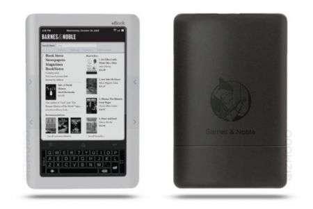 Lettore ebook Barnes and Noble con multitouch