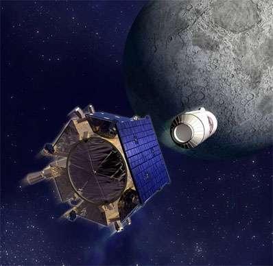 Bombardamento sulla Luna in diretta web