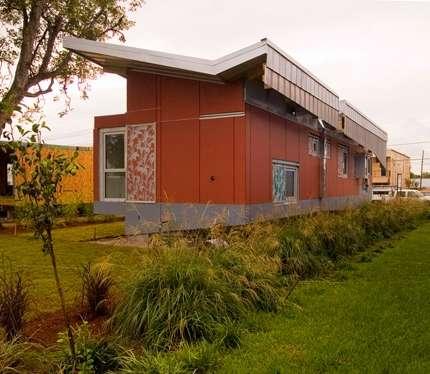 Float House: casa che può galleggiare