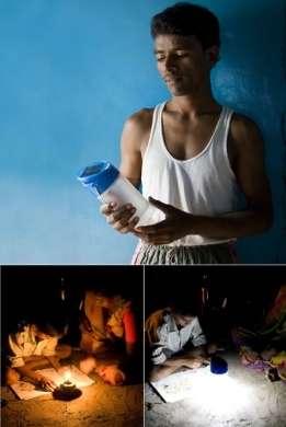 Kiran: lampada solare efficiente e economica
