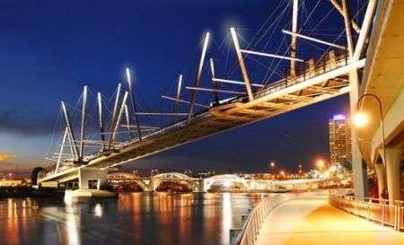 Ponte ecologico Kurilpa Bridge