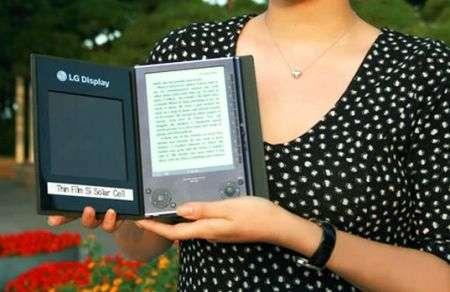 Lettore e-book LG solare