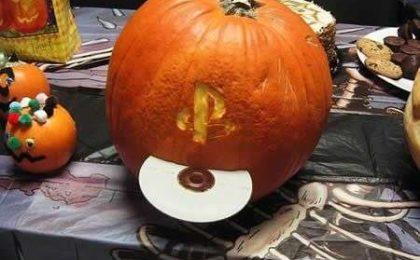 Zucche artistiche per Halloween