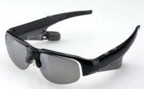 Sanwa 400-HS015: occhiali mp3 Bluetooth a induzione ossea