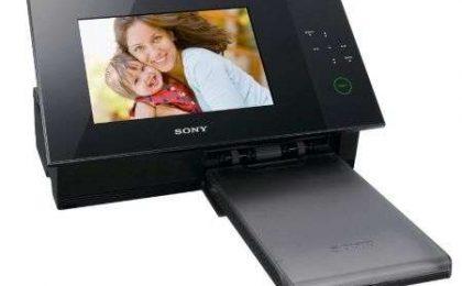 Sony S-Frame DPP-F700: portafoto digitale con stampante