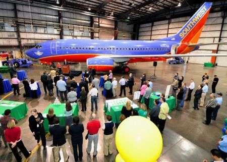 """Southwest Airlines e il suo """"Green Plane"""""""