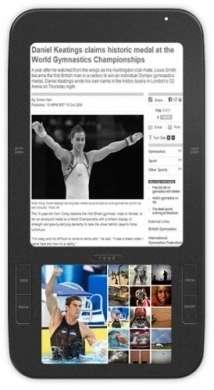 Lettore ebook Spring Design Alex con Android e doppio schermo
