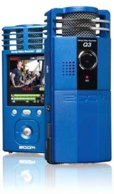 Videocamera Zoom Q3 disponibile