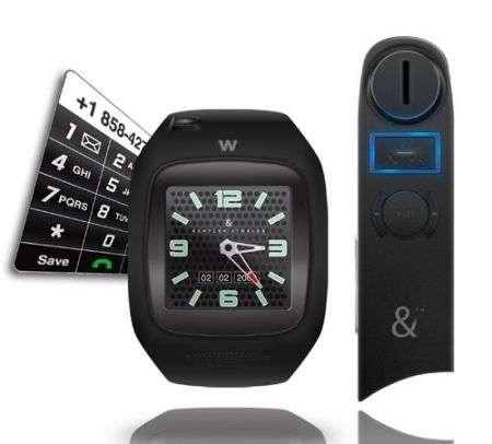 W PhoneWatch: il più piccolo cellulare-orologio GSM