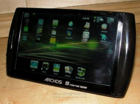 Archos 5 Android Internet Tablet a un euro