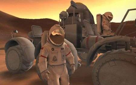 Astronaut: Moon, Mars and Beyond, MMO della NASA