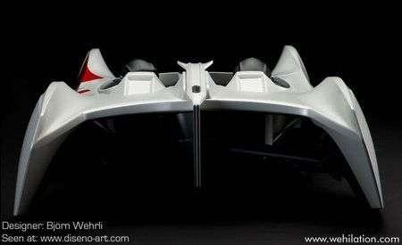 Audi Makaon Speedsailor: auto che si guida come una barca