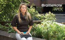 BrailleNote Apex: appunti per non vedenti