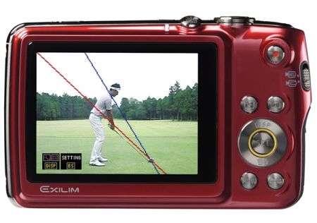 Casio EX-FS10S fotocamera digitale per golfisti