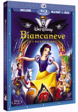 Biancaneve e i Sette Nani in DVD e Blu Ray