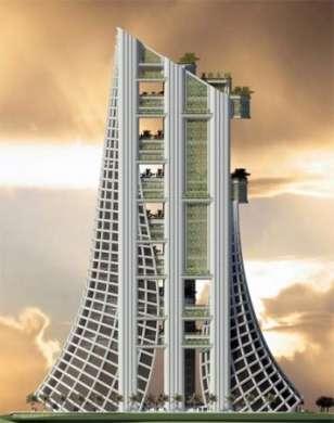 Eko Housing sarà la Tour Eiffel verde di Dubai